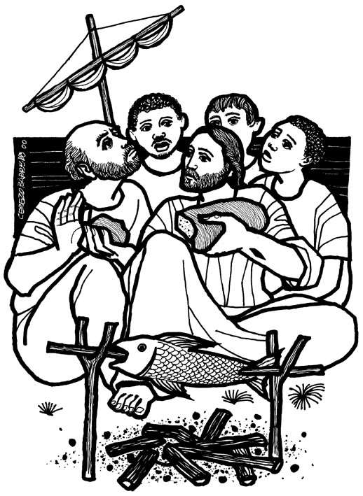jesus and peter clipart - photo #38