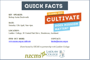Quick Facts for Cultivate