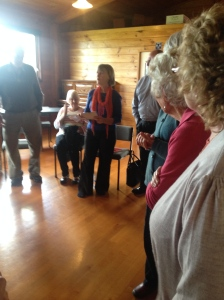 Excellent Taize session with Sue Gilmour who got everyone involved in singing a 4 part harmony song