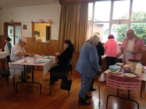 Glen Eden held an excellent Pink Ribbon Breakfast before church to raise donations for NZ Breast Cancer Foundation.