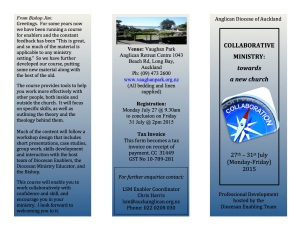 Collaboration Training Course July 2015 flyer