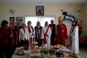 Gillian was ordained deacon on 13th Sept at Mercury Bay LSM by Bishop Jim White