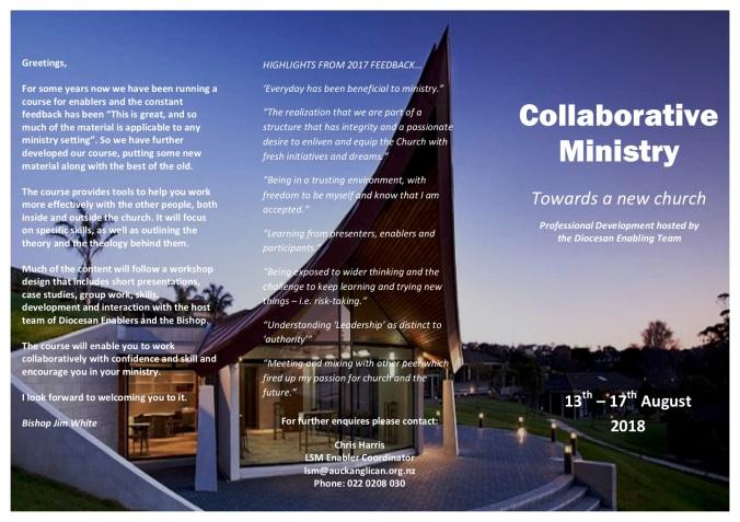 Collaborative Ministry Brochure 2018 p1