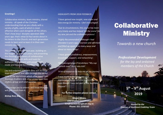 Collaborative Ministry Brochure 2019 page 1